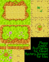 Tiny Woods Tileset RPG Maker xp size by TheDragon-Rider