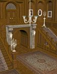 Mansion Hall 1 by markopolio-stock