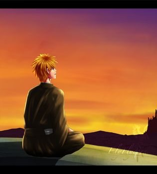 Bleach_Sunset by ElyFlycorn