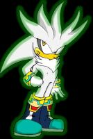 Silver The hedgehog by PabloCARP