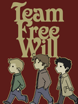 Team Free Will colored by EmonyJade