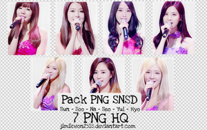 Pack PNG #34: SNSD (STOP) by jimikwon2518