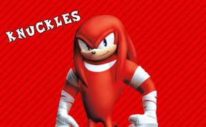 Sonic Boom Wallpaper(Knuckles) (Edited) by Millerwireless