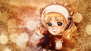 Candy Candy - wallpaper by selinmarsou
