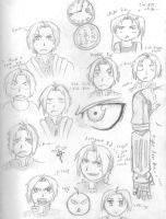 The Many Faces of Ed by NayruElric