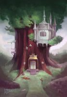 A Castle on a tree by AlineMendes