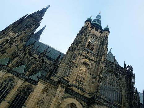 St. Vitus Cathedral 2. by OrsatUrsusActos