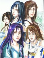 Final Fantasy Females 1 by Aquarina12