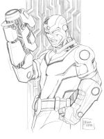 07132014 Cyborg by guinnessyde