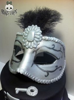 50 Shades Mask Closeup by Corpse-Queen