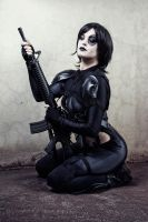 Domino - Deadpool the game by GiantShev