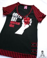 Green Day Top 2 by smarmy-clothes