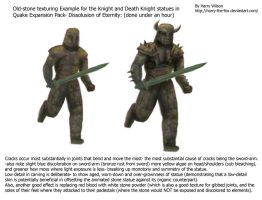 Mouldy Guard Statues for Quake by Harry-the-Fox