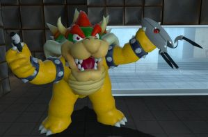 Bowser in Portal by JJsonicblast86