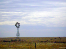 Amarillo Windmill by MinorTechnicality