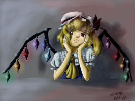 Cold Flandre by ValKrayon