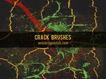Crack Brushes by xara24