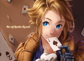 ace of spades Ezreal by shishiilol