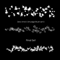 Zero Ame's Smudge Brush Set 5 by ZeroAme