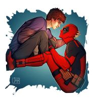 Spideypool: Count On Me by MisterLIAR