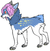 Wolf adopt 1 (SOLD!) by IMonsterDrool