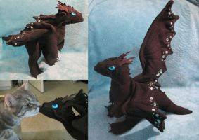 Stuffed Temeraire the Dragon by Skylanth