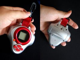 Red digivice for sale by maggifan