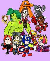 We're Avengers, Charlie Brown by SonicClone