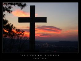 Sequoyah Sunset by wulfster