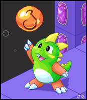 Bubble Bobble by kouneli