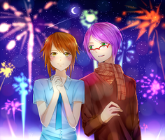 Firework Festival by Bluccis