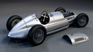 1939 Mercedes-Benz W165 2 by Laffonte
