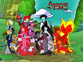 Adventure time Wallpaper by Skylight1989