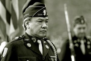 Chinatown: Military Man by Calzinger