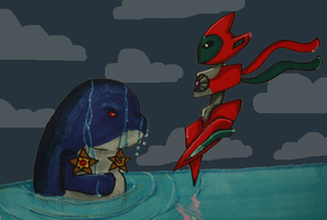 PKMN-SKIES: Piper vs Deoxys by SeleneTheWerewolf