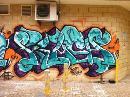 tafe.graff by PerthGraffScene