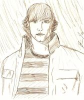 Sam Winchester by FrostedIcefire
