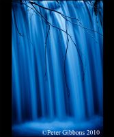 Abstract Blue Water 1 by Photo-Joker