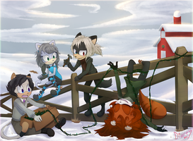 Farm Decorating by Divert-S