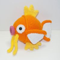 Magikarp by Heartstringcrochet