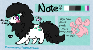:Note Reference Sheet: by PrePAWSterous