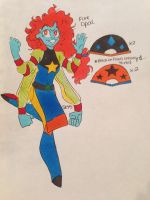 Fusion Friday Fire Opal by PoorArtistGirl27