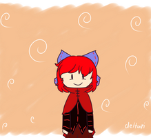 Playing Sekibanki ANIMATED by deltari2