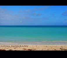 Caribbean blue by burcyna