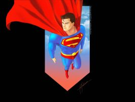 Superman Wallpaper by Roan by Valiance