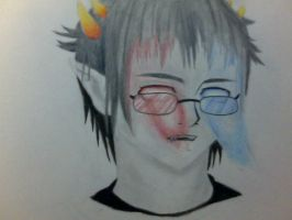 2ollux realistic Homestuck by sugarglider1