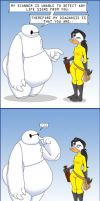 When Bell Met Baymax by GreyOfPTA