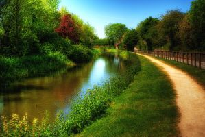 Chesterfield Canal... by TheBaldingOne