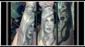 Andy Six Tattoo Drawing by Ebsie