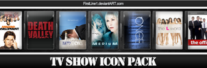 TV Show Icon Pack 10 by FirstLine1